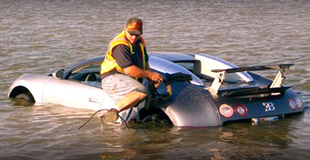 "Guy Tried to Cheat Insurance by ""Drowning"" His Bugatti Veyron"