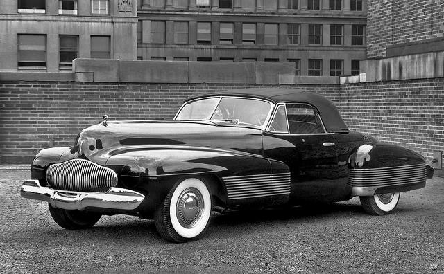 """1938 ... Buick """"Y Job"""""""