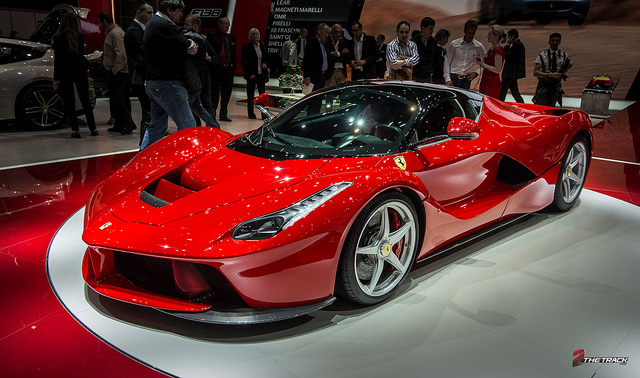 Ferrari LaFerrari world debut at the Geneva Motor Show