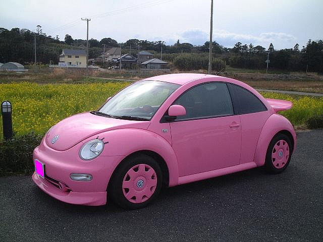 PINK NEW BEETLE
