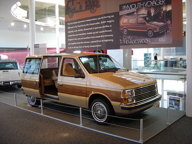 Walter P. Chrysler Museum: 1984 Plymouth Voyager