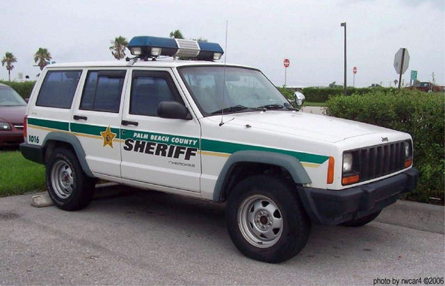 Palm Beach County FL Sheriff Jeep Cherokee