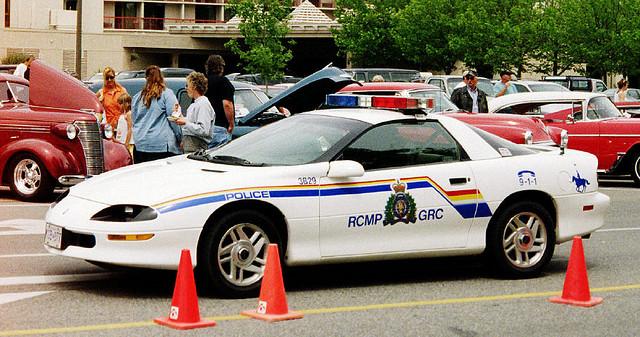 RCMP Camaro