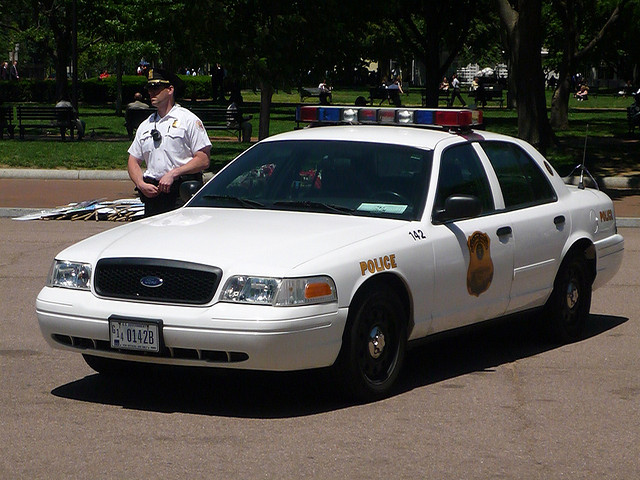 US Secret Service Ford Crown Victoria