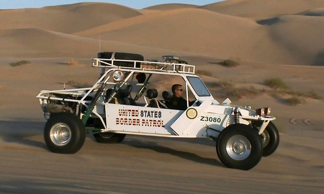 United States Customs and Border Protection Buggy