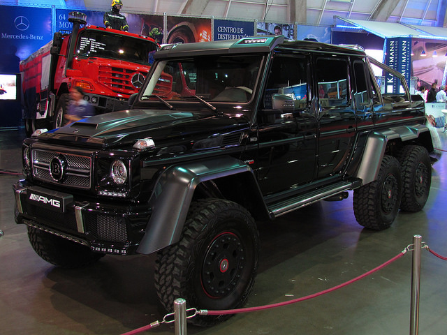 Top 12 fastest suvs in the world page 2 of 12 carophile for Mercedes benz g63 amg 6x6 price