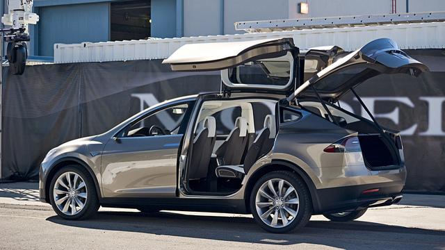 Tesla Model X Electric Crossover Suv