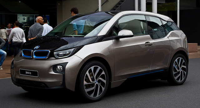 BMW i3 – Frontansicht, 14. September 2013, Frankfurt
