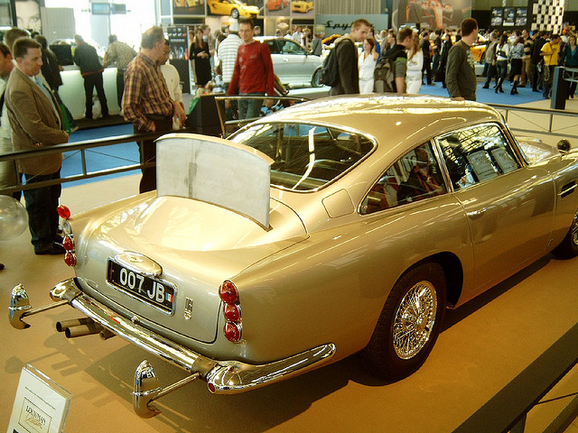 James Bond's Aston Martin DB5, 1964
