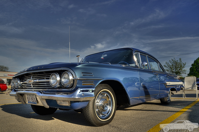 1960 Chevy Impala HDR