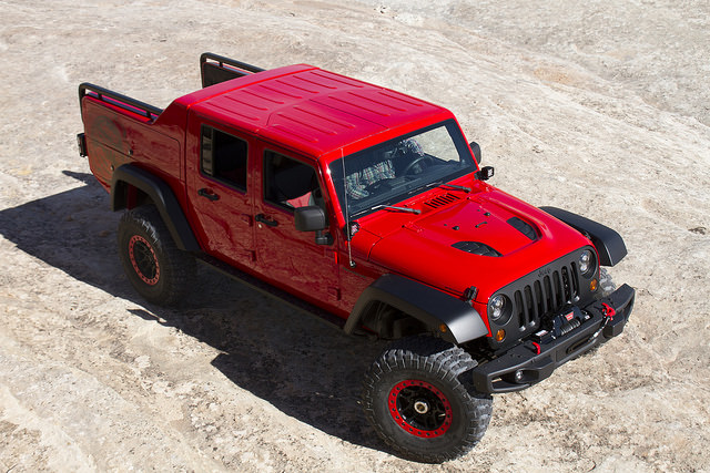 Jeep® Wrangler Red Rock Responder– Easter Jeep Safari 2015