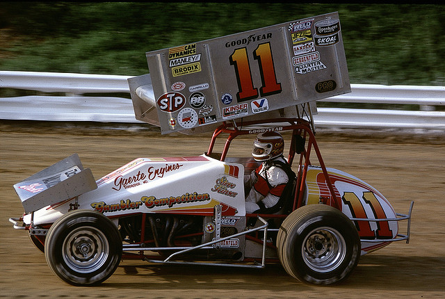 Steve Kinser Williams Grove 1986