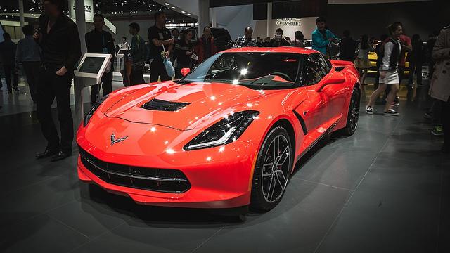 chevrolet corvette Auto Shanghai 2015 - The 16th International Automobile & Manufacturing Technology Exhibition 2015 상하이 모터쇼 2015 第十六届上海国际汽车工业展览会