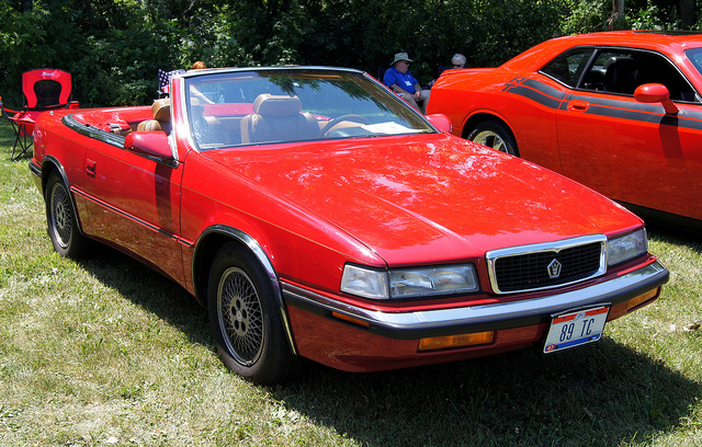 89 Chrysler TC by Maserati