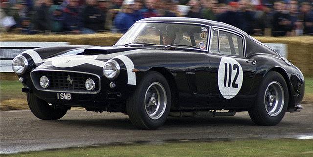 """""""Stirling Moss"""" - Ferrari 250GT SWB- """"1 SWB"""" - 1997 GOODWOOD FESTIVAL OF SPEED"""