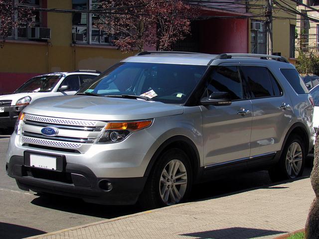 Ford Explorer XLT 3.5 2012