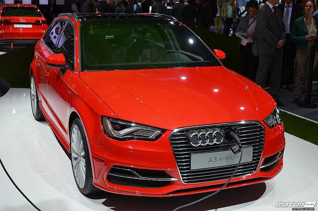 IAA 2013: Audi A3 e-tron