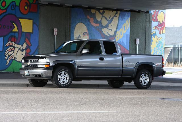 2000 Chevy Silverado 1500 4x4 LS Ext Cab