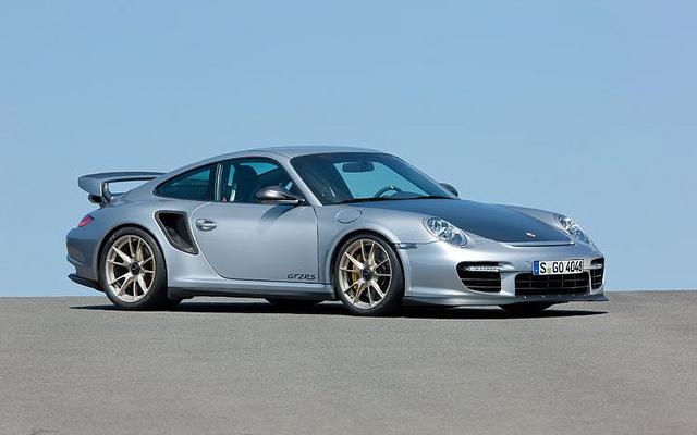 2011- Porsche 911- GT2- RS- Passenger Front Three Quarters