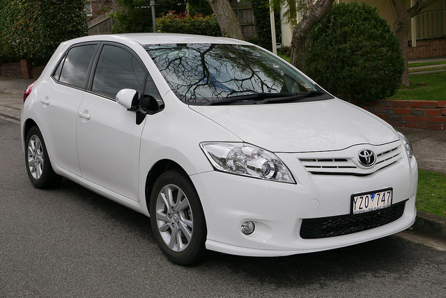 2012 Toyota Corolla (ZRE152R) Ascent Sport 5-door hatchback