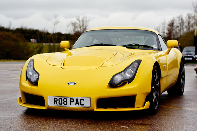 The TVR Sagaris Was Built Between 2005 And 2006 By British Auto Manufacturer Debuting At MPH03 Show In 2003 Designed With