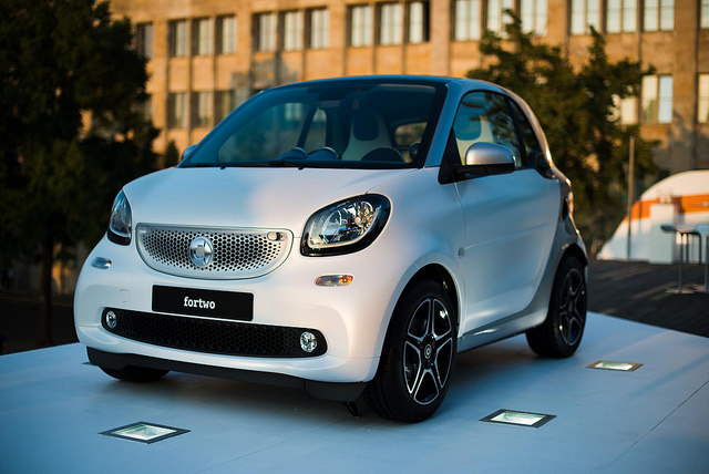 smart fortwo forfour Premiere Berlin