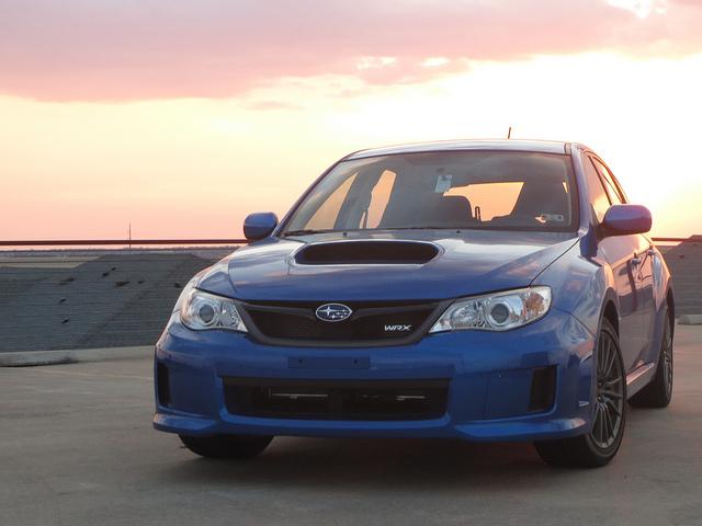 2013 Subaru WRX 5 door WR Blue Pearl