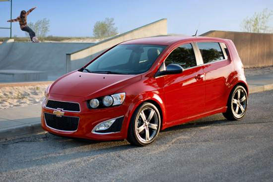 2015 Chevy Sonic hatchback