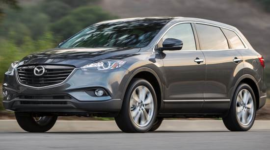 2015 Mazda CX9 revealed redesign