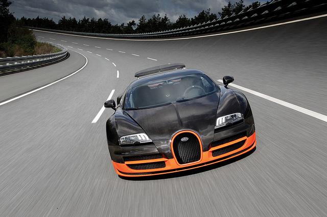 Bugatti Veyron 16.4 Super Sport World Record Holder