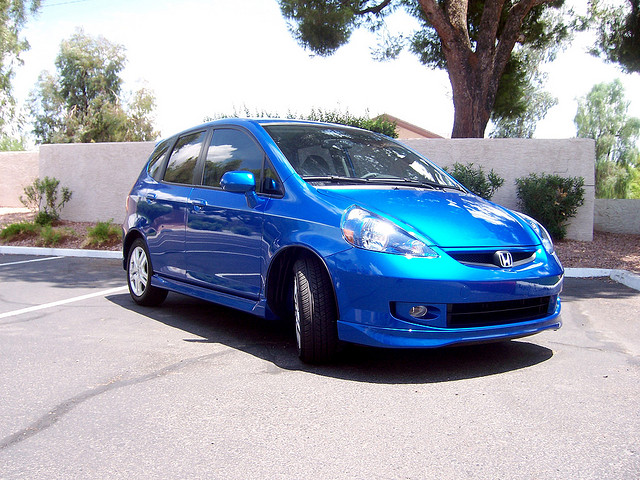 My New Honda Fit