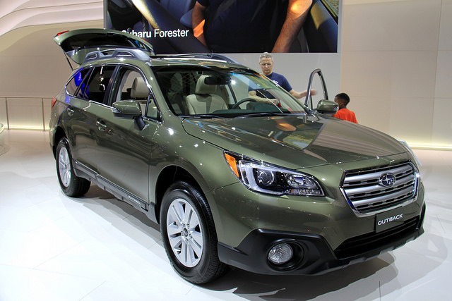 Subaru Outback at the 2014 New York International Auto Show