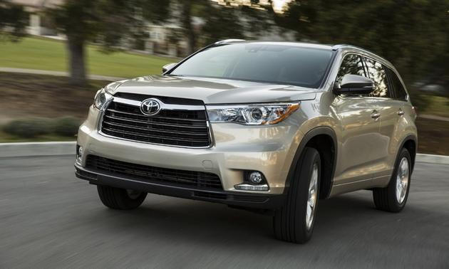 Toyota Highlander 2015 Limited Edition