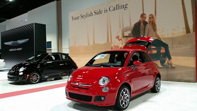 2015 Fiat 500 Sport Hatchback - $18,350 USD