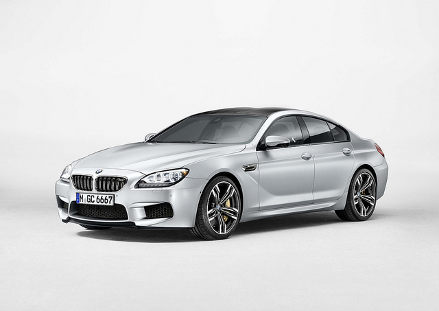 All New BMW M6 Gran Coupe .....