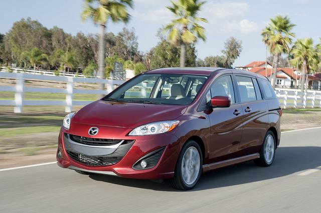Mazda5, 2012