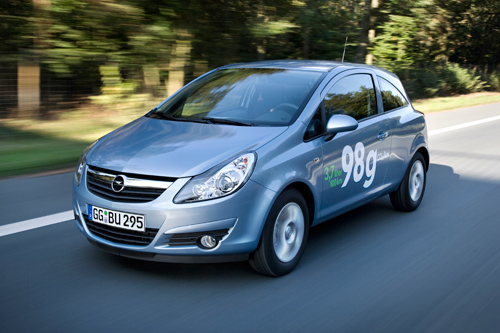 New Opel Corsa ecoFLEX with only 3.7 liter/100 km and 98g/km CO2