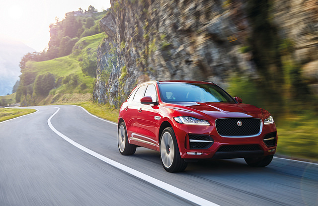 The all-new Jaguar F-PACE | Location