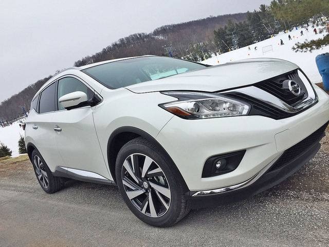 With Dad & the 2015 Nissan Murano