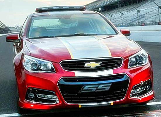 2015 Chevrolet SS Pace Car Redesigns