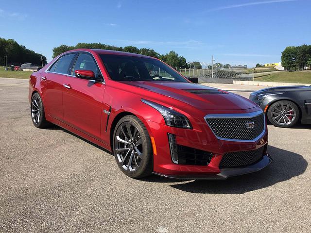 2016 Cadillac CTS-V Performance Sedan: Seminal Role Player