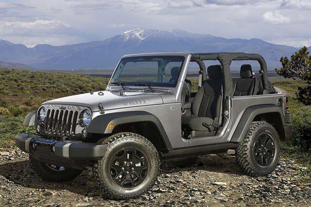 2016 Jeep® Wrangler Willys Wheeler Edition