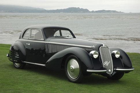 Alfa Romeo 1938 8C 2900B Berlinetta - John Shirley  AD