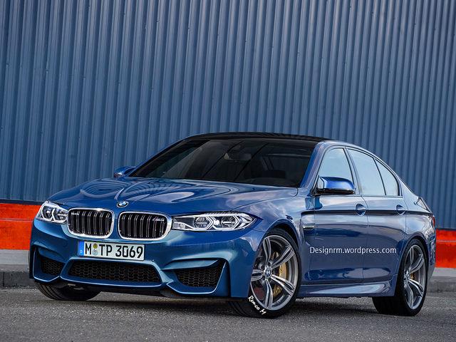 BMW M5 2016 Front Blog