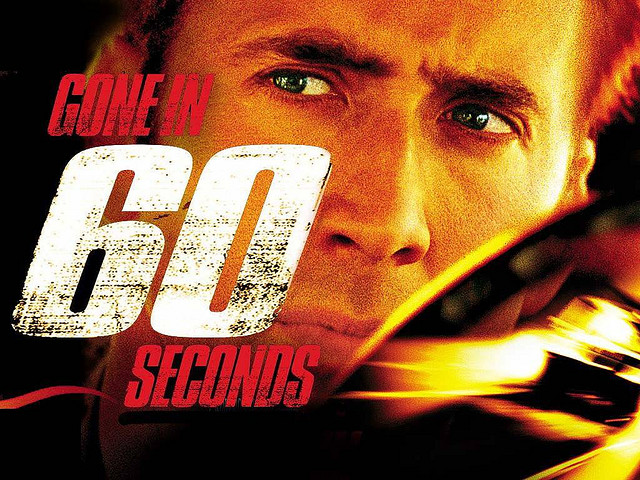 Gone In Sixty Seconds , 2000 , Nicolas Cage , Angelina Jolie