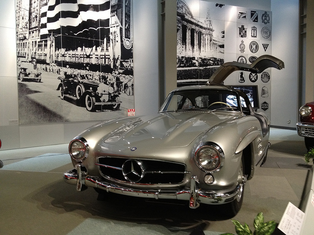 Mercedes Benz 300 SL Coupe, 1955