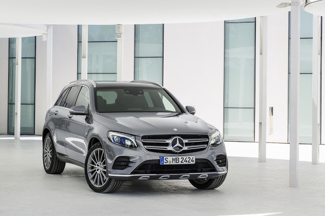 Official: 2016 Mercedes-Benz GLC-Class