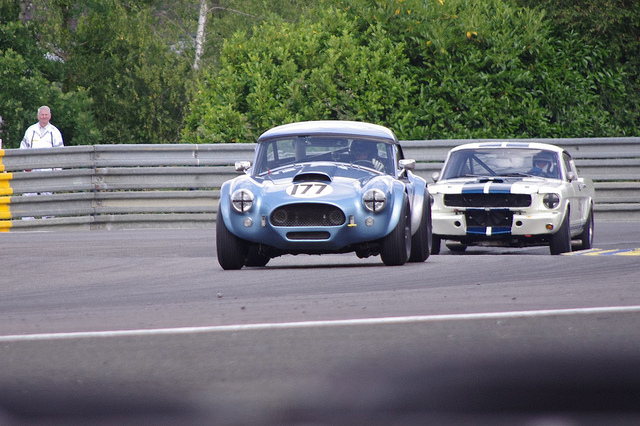 1962 AC Cobra and a 1966 Shelby Mustang 350GT