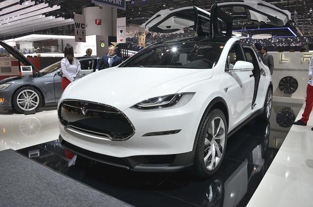 2016 Tesla Model X SUV p85d