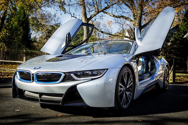 15 Cars With Gull Wing Doors Bmw I8